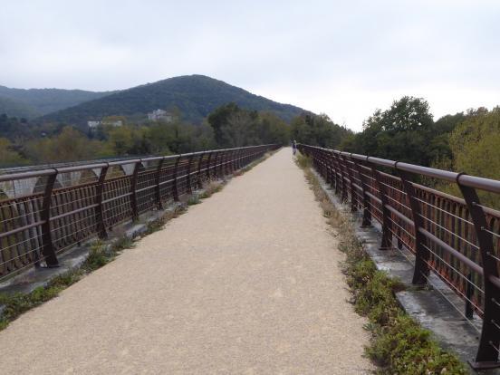 Viaduc sur l'Ardèche
