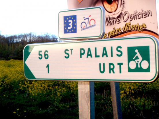 Saint-Palais 56km ?
