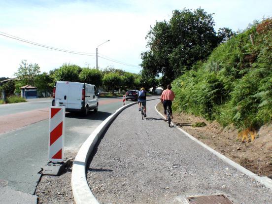 D911 à Bidart
