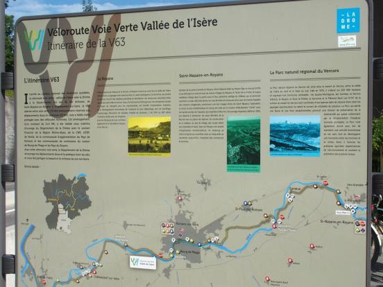 Départ en Drôme
