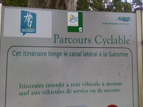 Entrée en Haute-Garonne