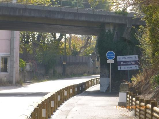 Sous pont chemin de fer