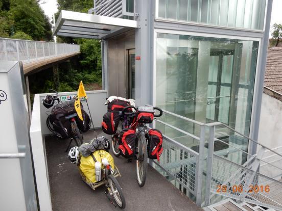 Ascenseur à vélo
