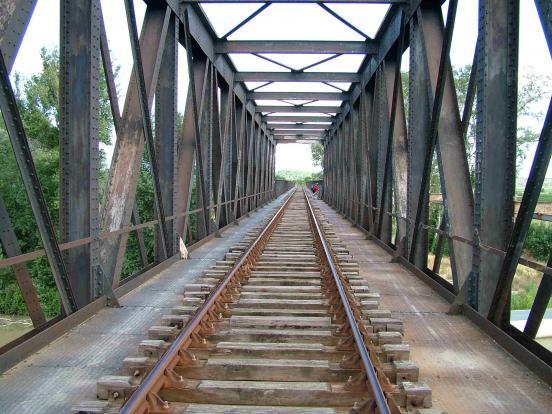 Pont  SNCF sur Aude