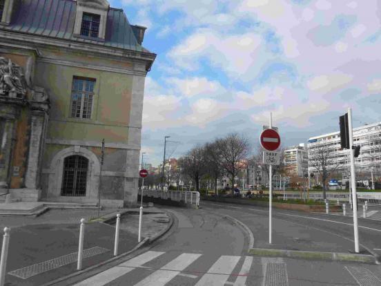 Départ à Toulon