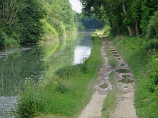 Le chemin de halage