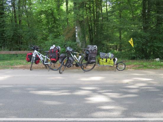 La piste cyclable