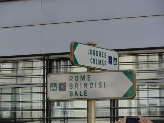 de Londres à l'Italie