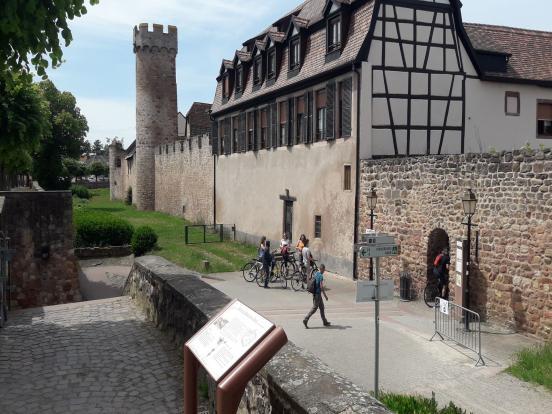 Remparts à Obernai