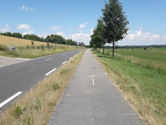 Aspect de la voie verte