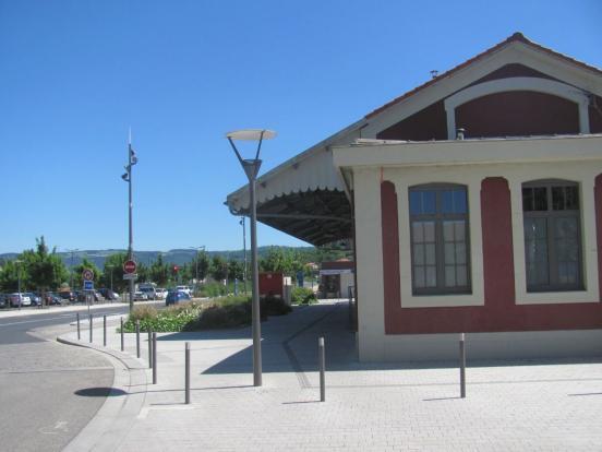 Départ gare du Puy
