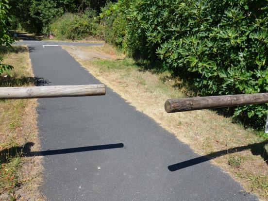 Les barrières en bois