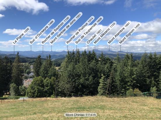 Mont Chiniac Saint-Agrève