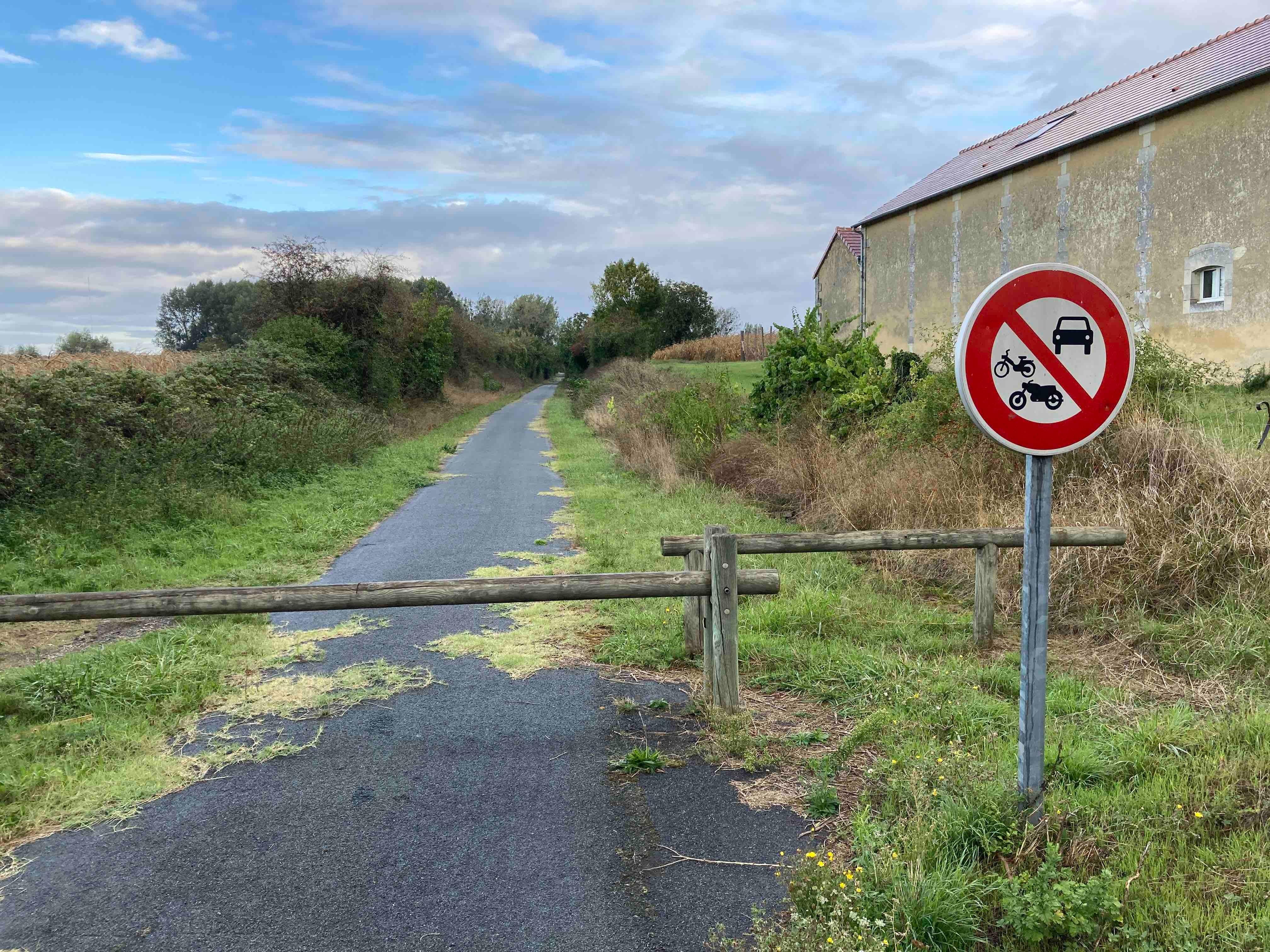Barrières non conformes