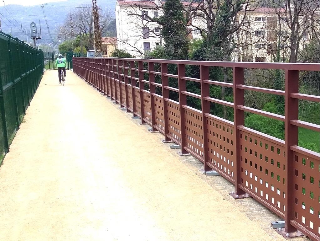 Pont de l'Echo vers Foix