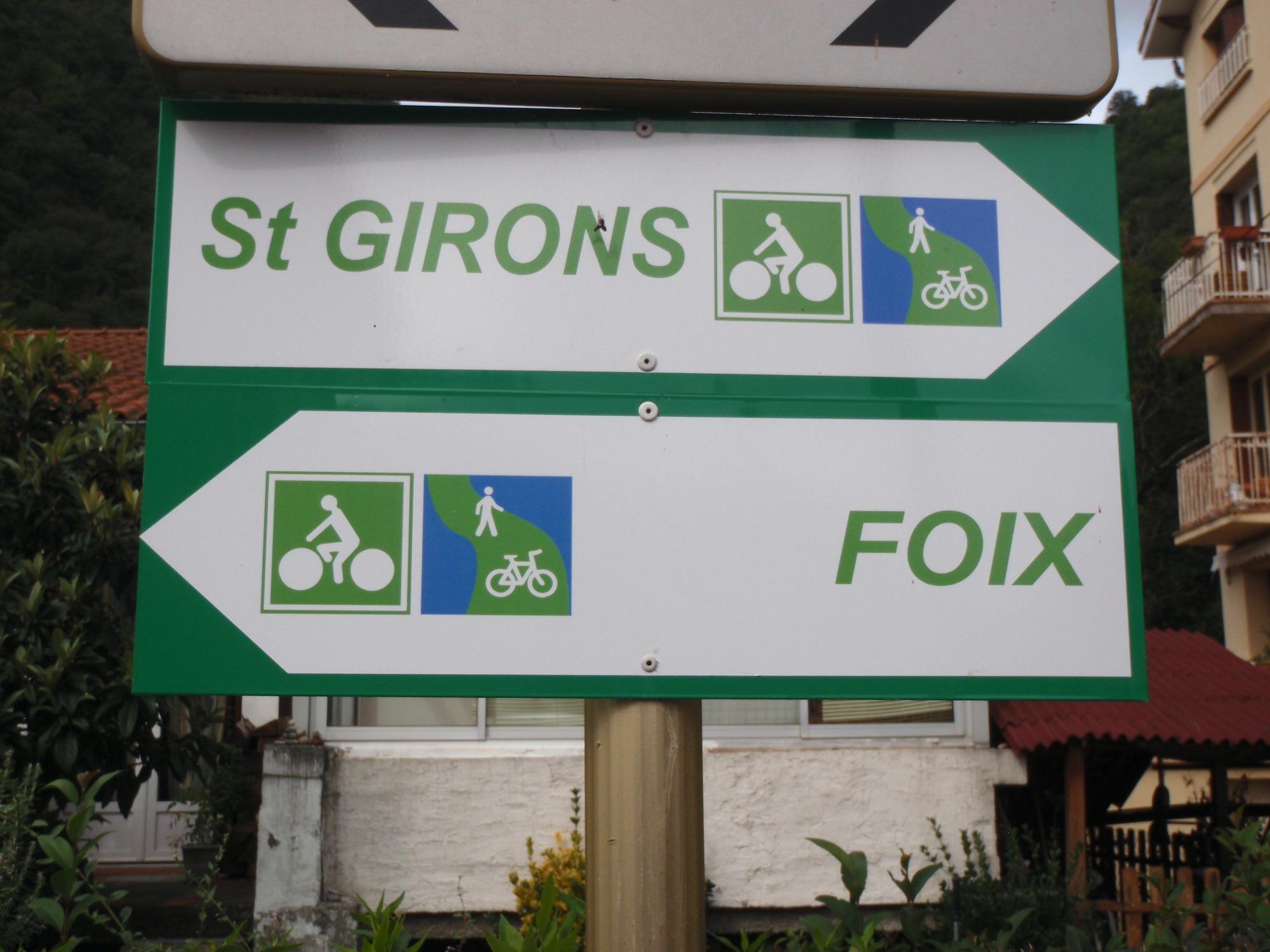 Accès gare Foix