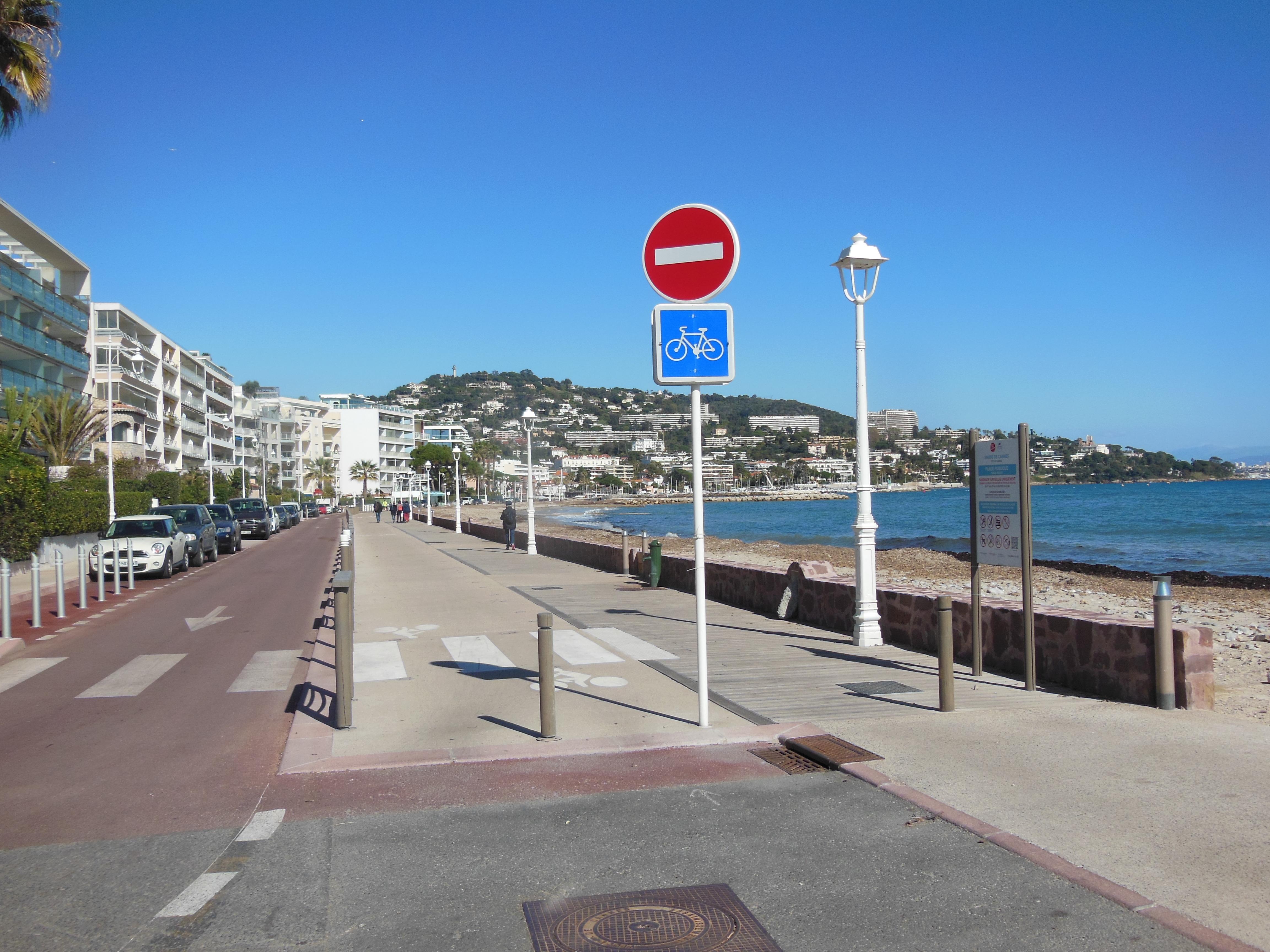 Nouvelle piste à Cannes