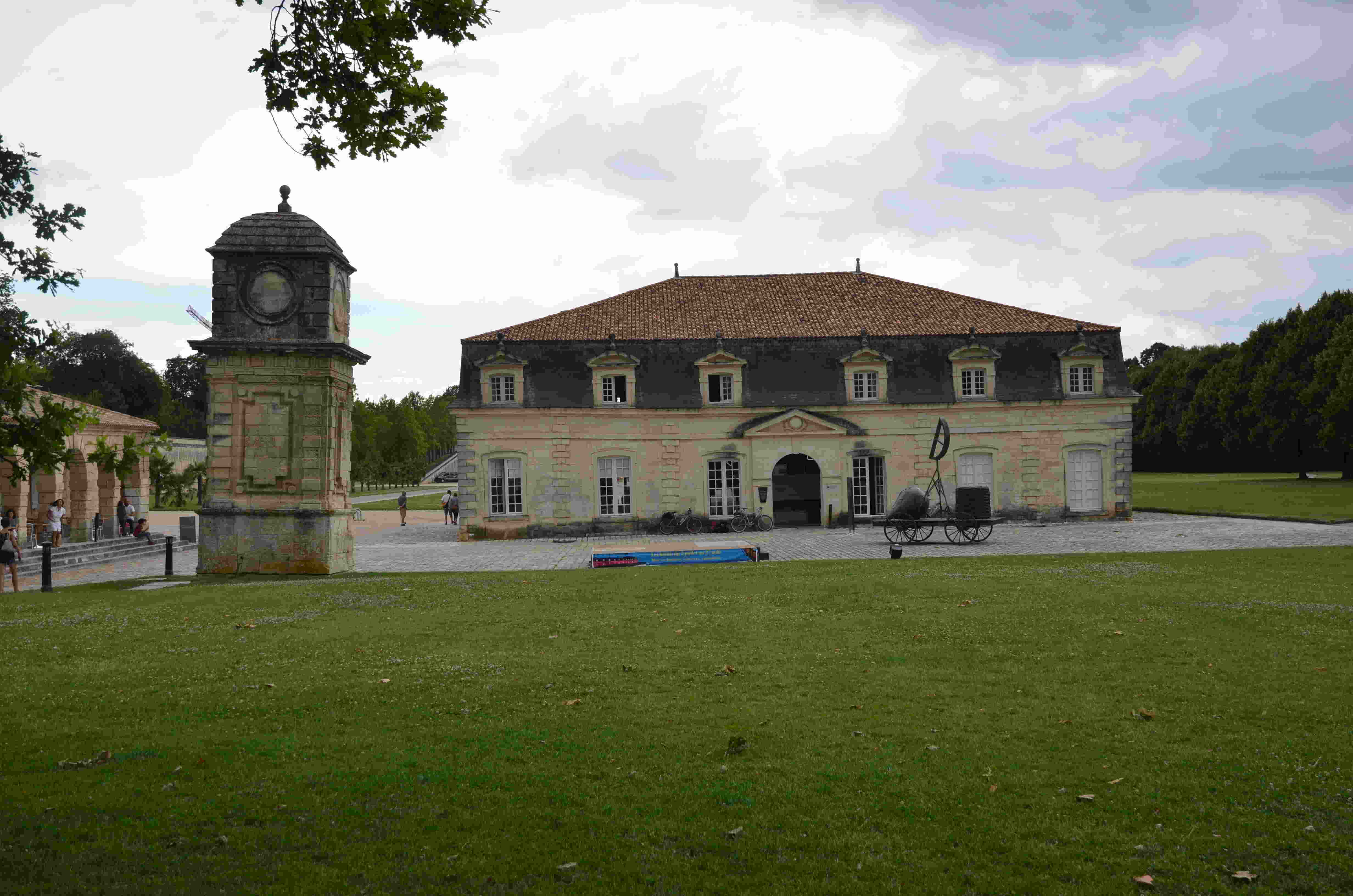 La corderie royale à Rochefort
