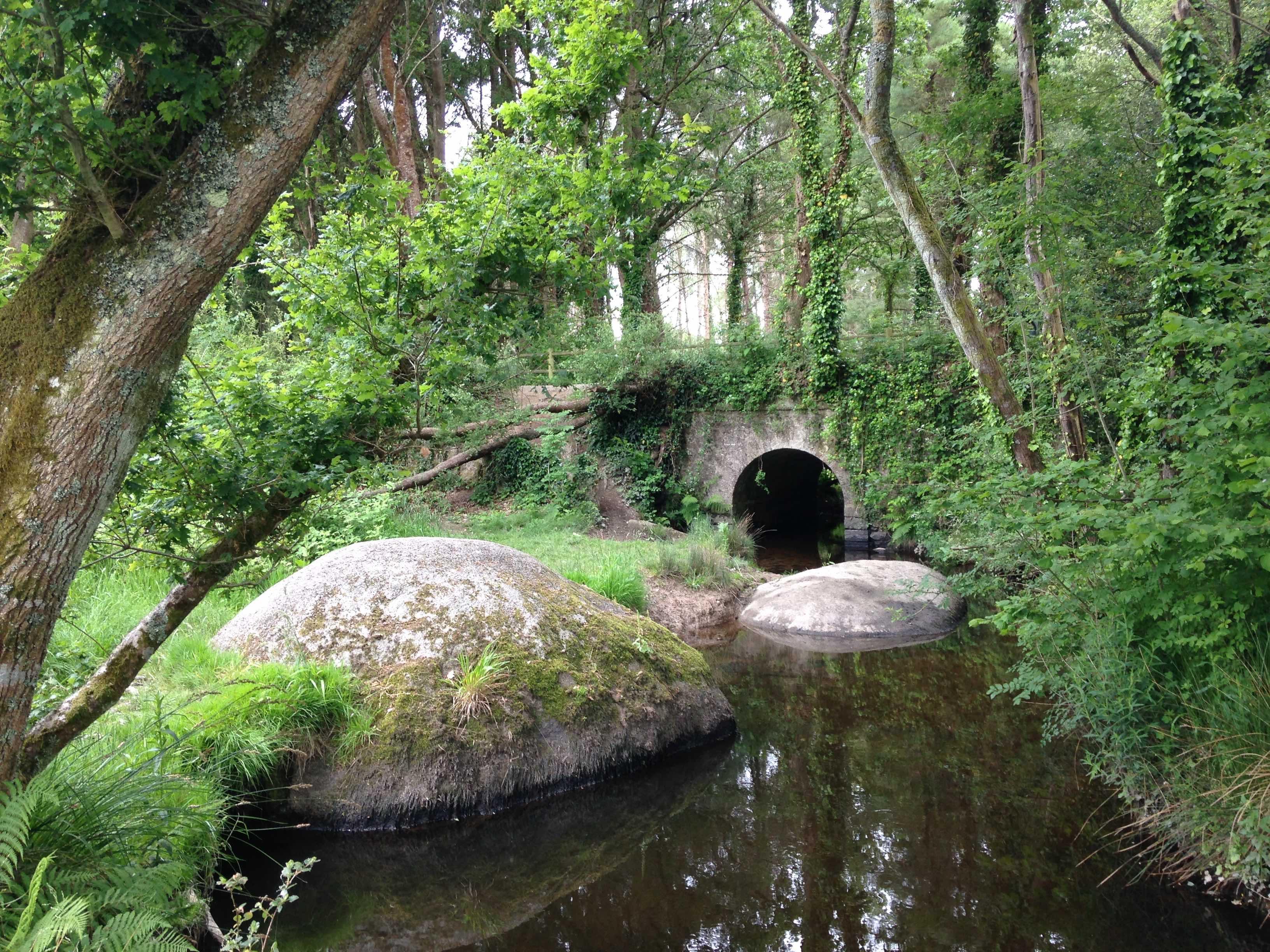 Pont entre Lanriec et Trégunc