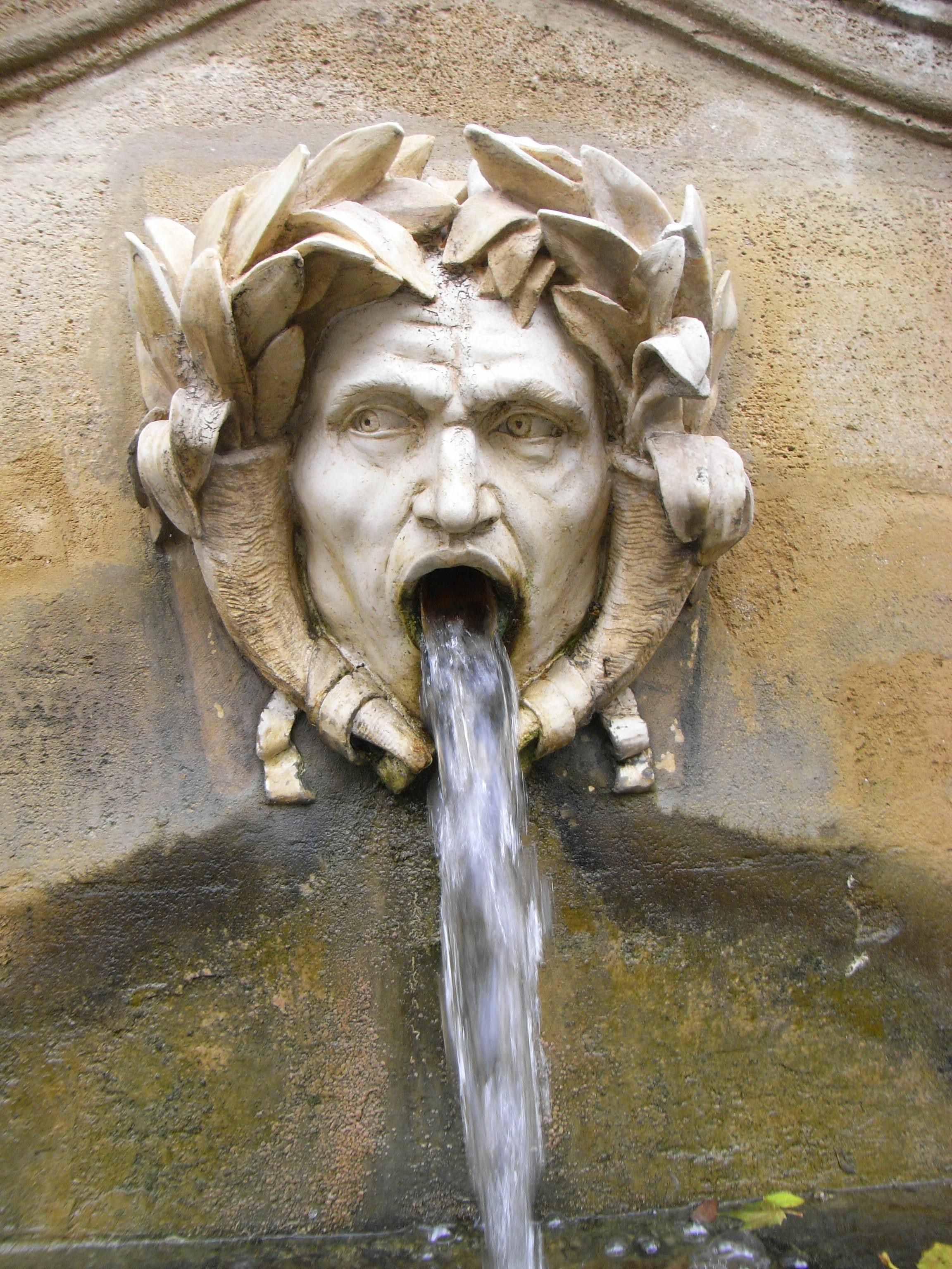 Fontaine à Jouques