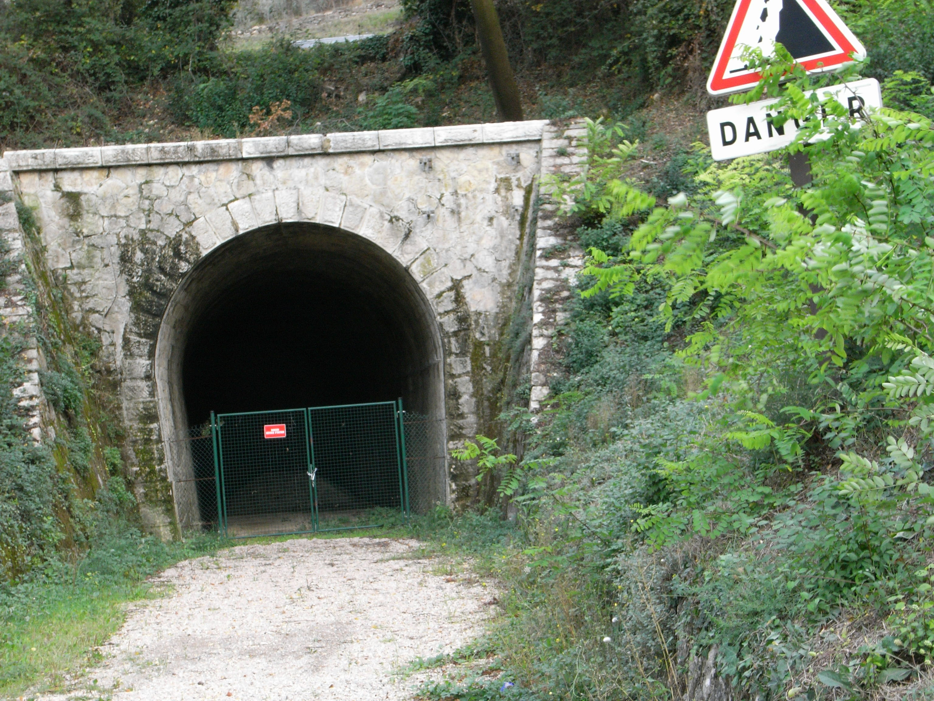 Tunnel à Callas
