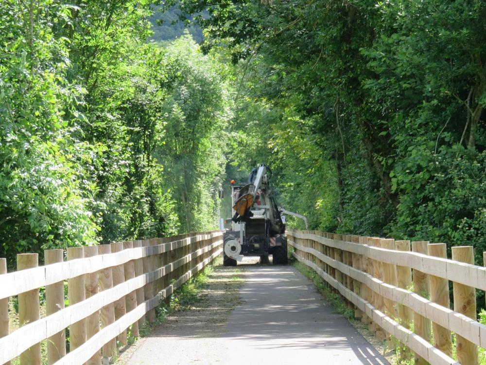 Entretien de la voie verte