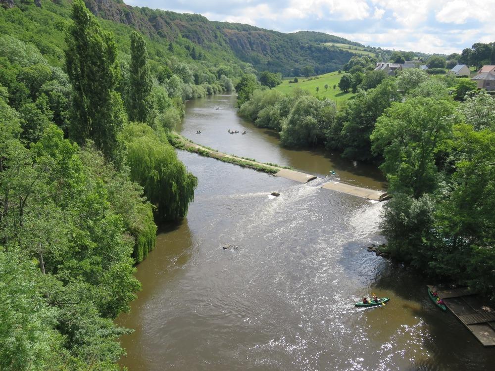 La vallée de l'Orne