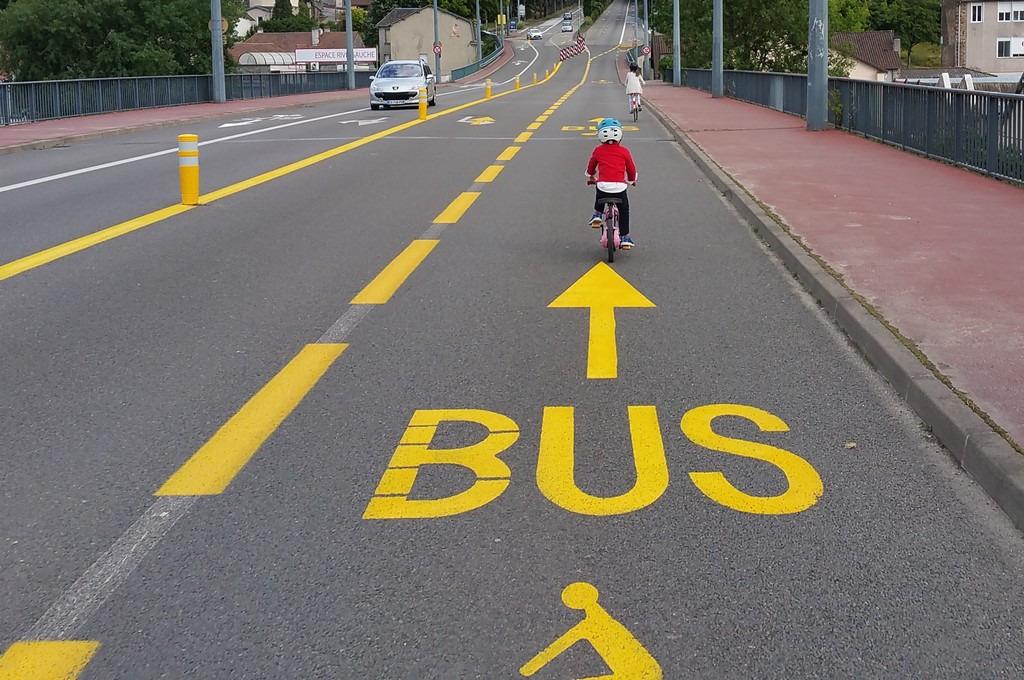 Couloir de bus créé