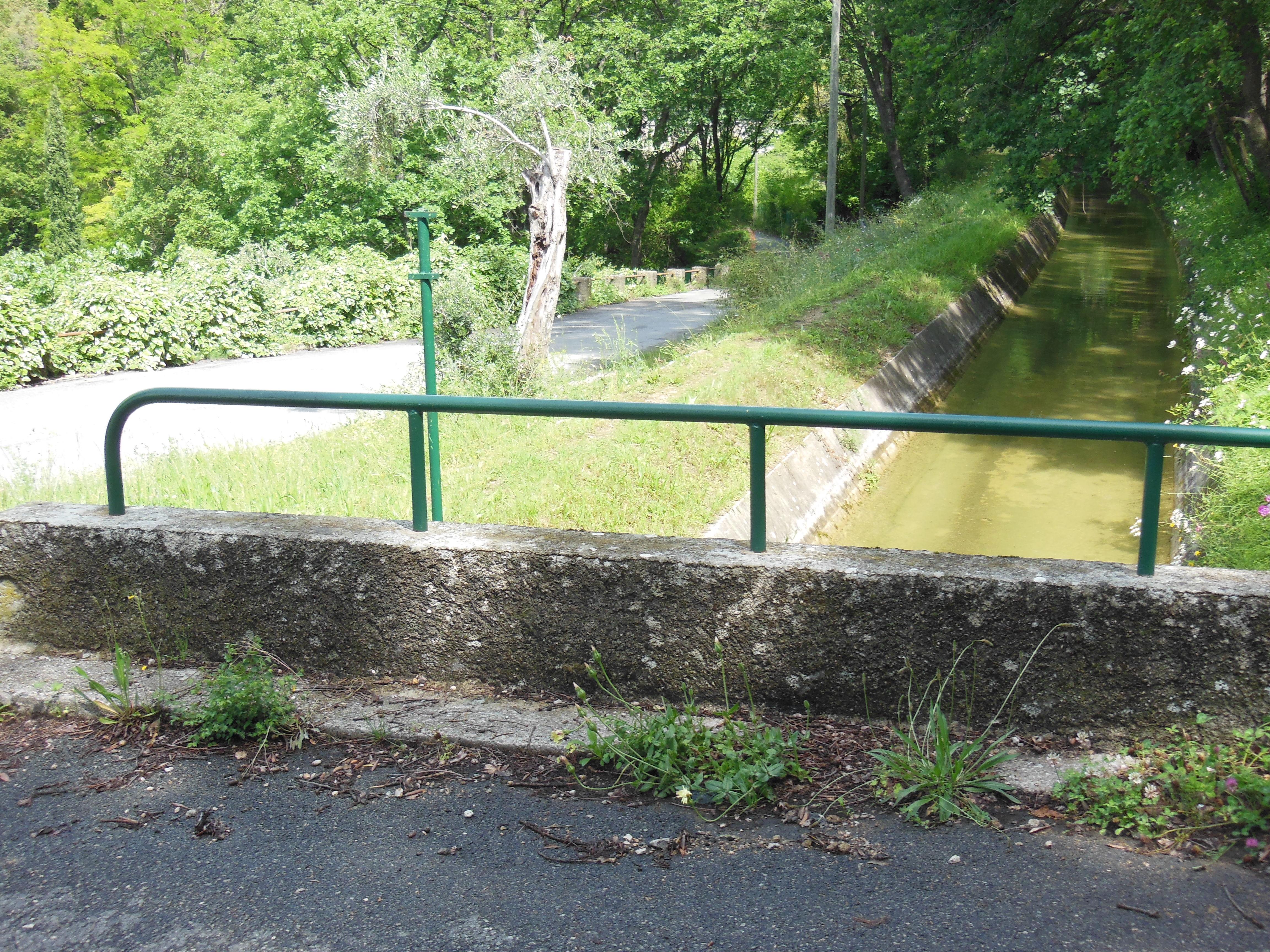 Le canal de la Siagne