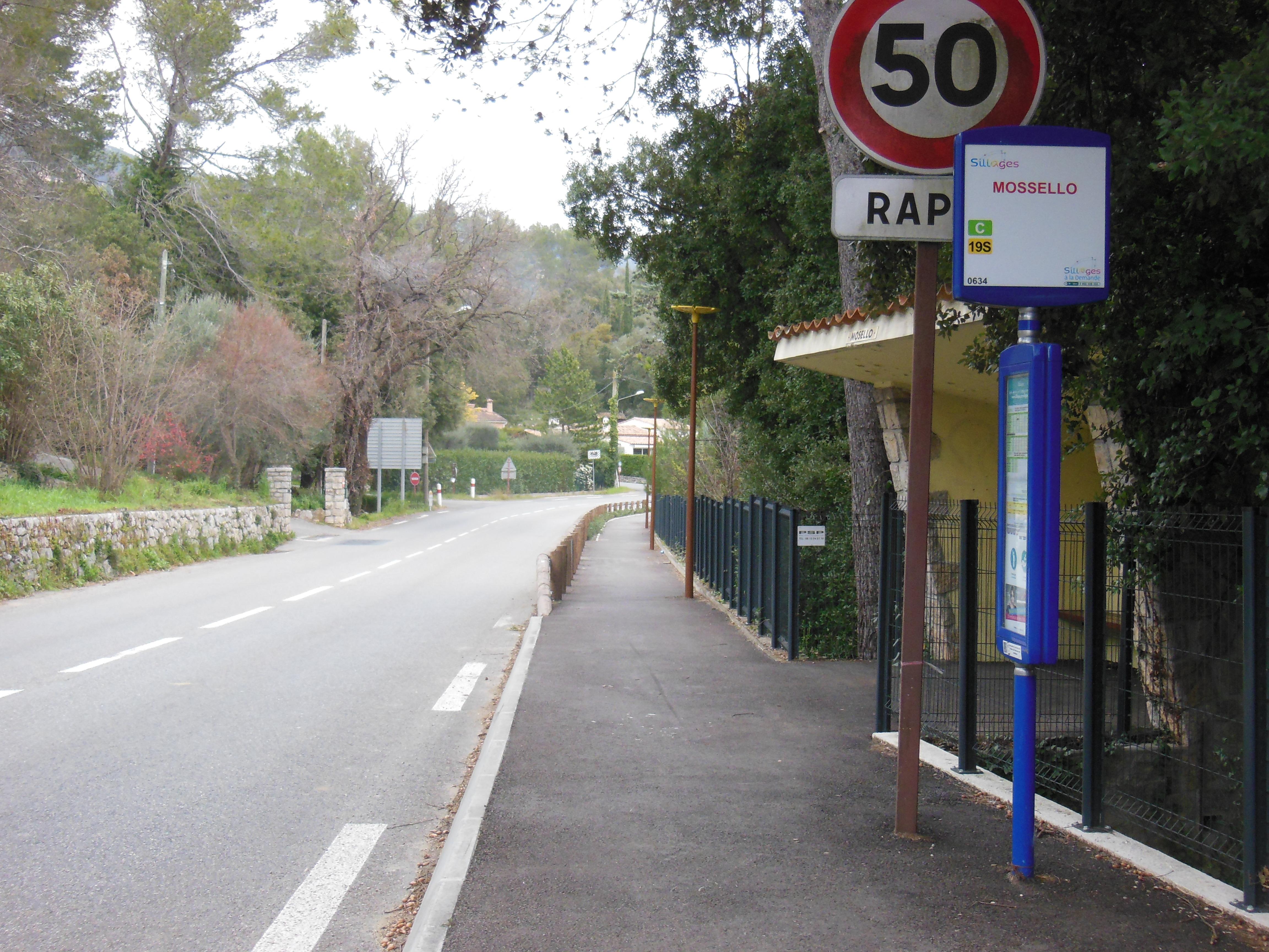 voie piétons / vélos