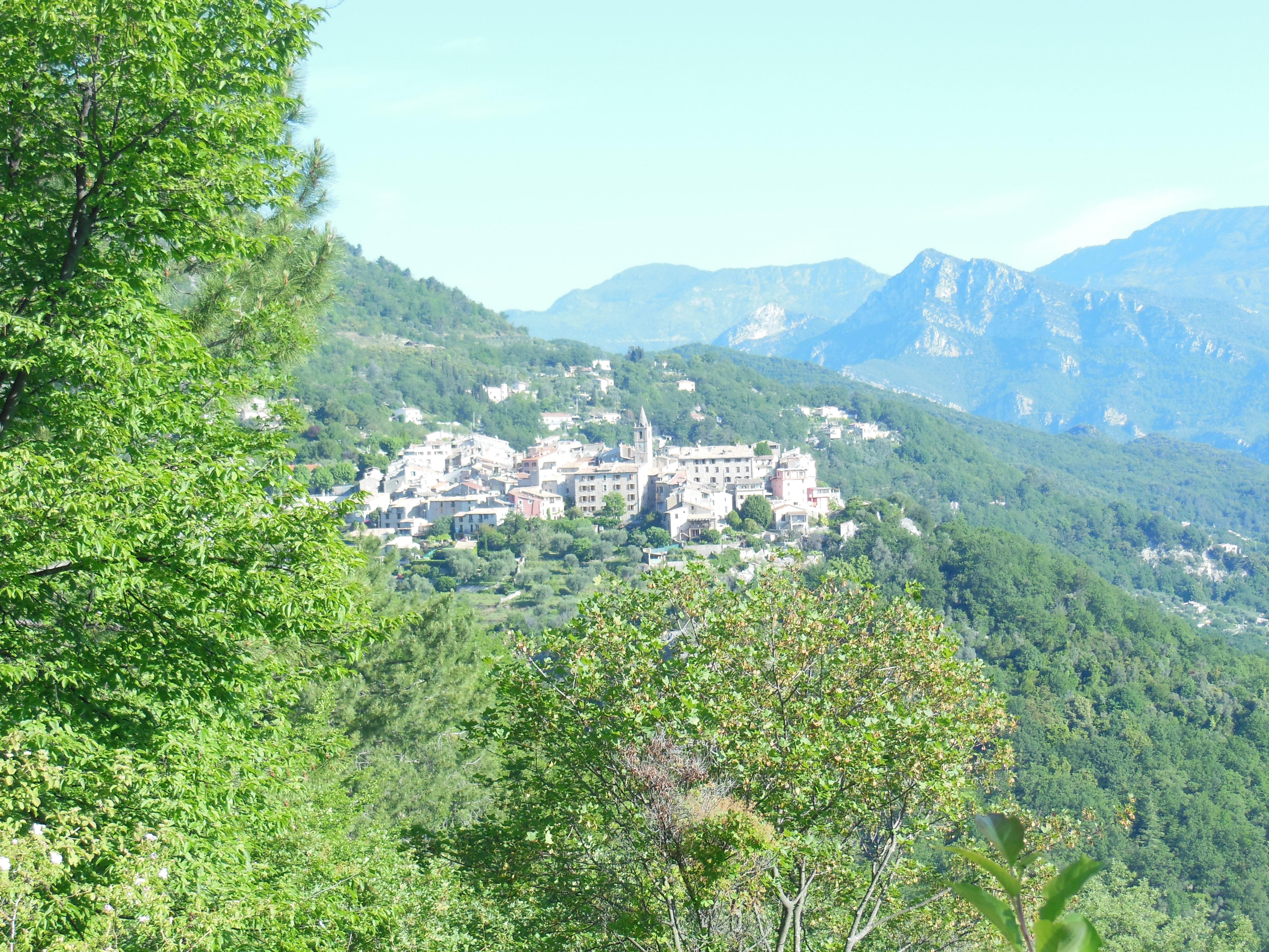 Le Broc, village perché