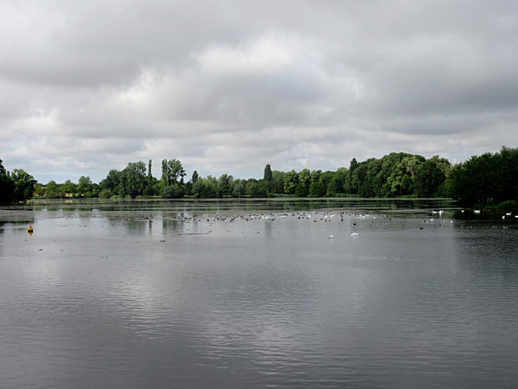 Plan d'eau du Val d'Auron