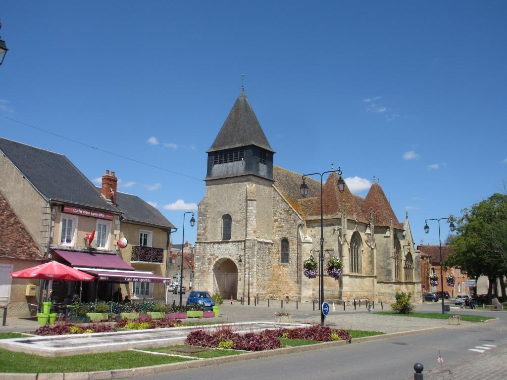Eglise Saint-Etienne à Dun-sur-Auron