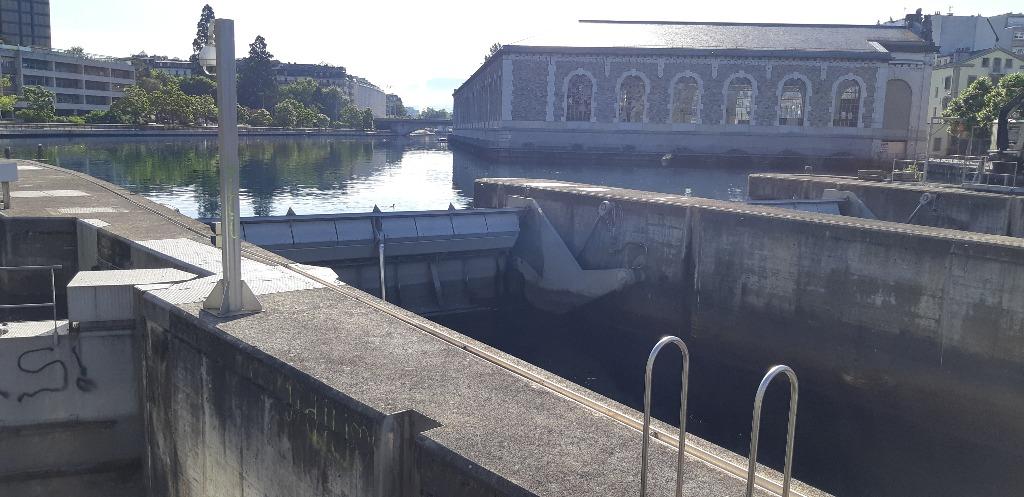Genève Barrage du Seuget
